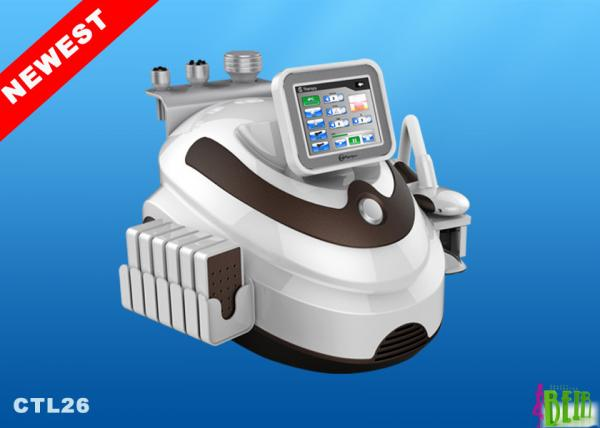 Quality Safety Cryolipolysis Slimming Machine 100mw Mitsubishi 104 Diodes Fast Lipolaser for sale