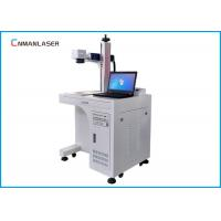 Buy cheap Auto Parts Buckles Cylinder Metal Laser Marking Machine 20w 30w With Sliding from wholesalers