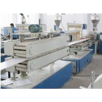China Wooden Plastic Product Pvc Sheet Extrusion Line / Machine Fully Automatic wholesale