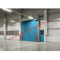 China Insulated Factory Electric Rolling Gate Industrial Lifting Doors For Warehouse Internal And External Use wholesale