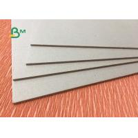 China Smoothness Laminated Grey Board 450g-1500g Double Grey Cardboard Box Board wholesale