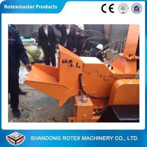 China Orange Wood Pellet Machine Gas Chipper Shredder , Electric Launching System wholesale