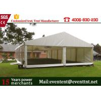 China M20 A Frame Tent Aluminum Frame Structure With Furniture Tear Resistant wholesale