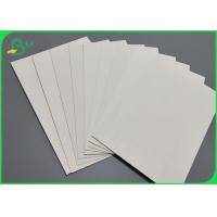 China 1.6mm 1.8mm 2.0mm Uncoated Water Absorbent Paper Super / Natural White on sale
