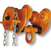 China GCL 610 Geared Trolley of Manual Chain Hoist For Shipyards To Install Machines , Lifting Good wholesale