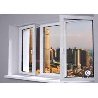China Outward / Inward Open Aluminum Casement Windows , Clear Tempered Glass Window on sale
