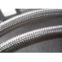 China Flexible Conduit Braided Stainless Steel Tubing , Stainless Steel Braided Hose Cover wholesale
