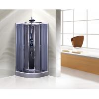 China Commercial Quadrant Shower Cubicles , Curved Glass Shower Enclosures on sale