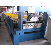 China PLC Control Hydraulic Floor Deck Roll Forming Machine For Industrial Building wholesale