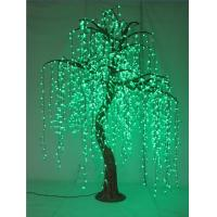 China 2015 outdoor lighting artificial trees decorating christmas LED willow tree light on sale
