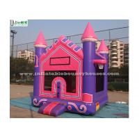 China High Tear Strength Pink 3 In 1 Inflatable Jump House for School Lobbies wholesale