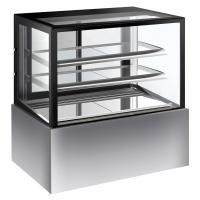 China Commercial Refrigerated Cake Display Cabinets 280L Capacity With Sliding Door with 900mm Length and Two Layers on sale