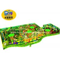 China Soft Play Kids Games Naughty Castle, Forest style Indoor Playground Toy Equipment wholesale
