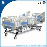 China Motor Operated Fully Electric Hospital Beds Four Silent Wheels,φ125 mm wholesale