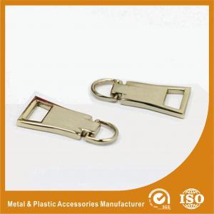 China OEM Metal Handbag Accessories Zipper Puller For Handbag / Purse wholesale