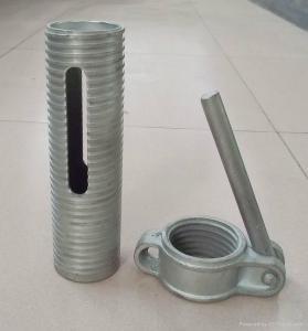 China Ringlock,Ledger end,diagonal brace end, scaffold fitting,rosette wholesale