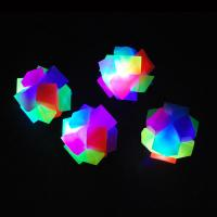 China Red, Blue Flashing Bouncy Rainbow Cubes For Promotional Toy, Pet Toy wholesale