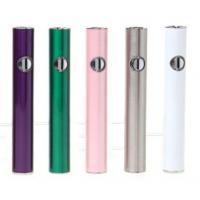 Portable e cigs lady style slim cigarette vaporizer battery 350 mah e smart battery