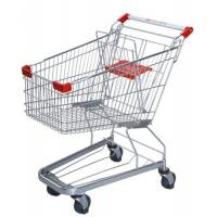China Germany Style Shopping Trolleys 5 Inch Grocery Hand Cart 1020×590×980 mm wholesale