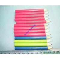 China personalized yellow colored pencils drawing HB natural wooden color drawing pencil wholesale