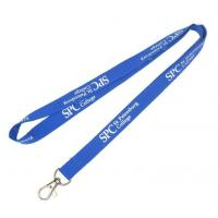 China Professional Silk Screen Imprint Polyester Lanyards Customized Color wholesale