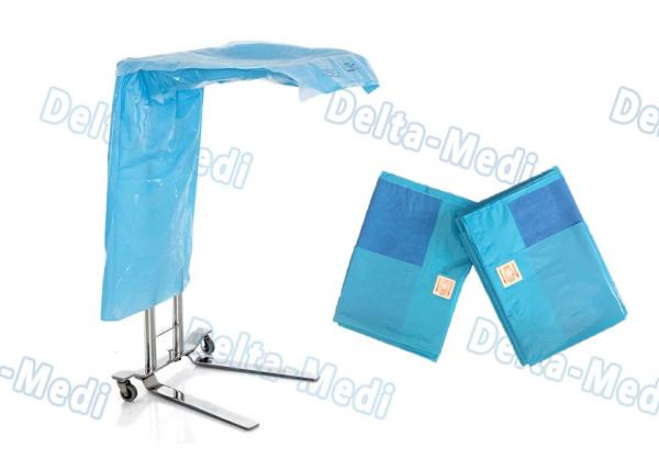 Quality Reinforced Medical Mayo Stand Cover Surgical Plastic Sheet Table Cover for sale