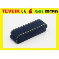 Buy cheap M1562B CTG belt, fetal monitor belt,dark blue, with Self-adhesive buckle , 4cm x 1.2m from wholesalers