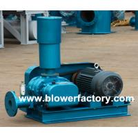 China Oxygen supply fish pond use roots blower on sale