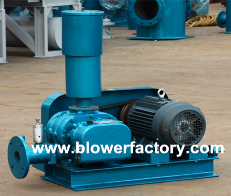 Quality Oxygen supply fish pond use roots blower for sale