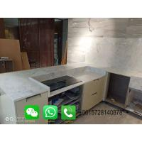 China Foshan Weimeisi Decor White Marble Countertop for kitchen on sale