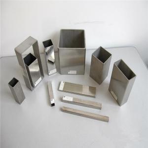 China ASTM B338 Grade2 Seamless Titanium Square Tube Pipe on sale
