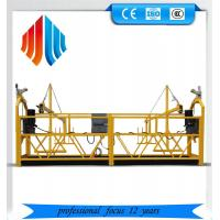 China Galvanized steel zlp 1000 suspended platform/ cradle/ swing stages wholesale