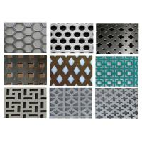China Punching Square Hexagonal Perforated Sheet 3003 H14 For Acoustic Wall Panels on sale