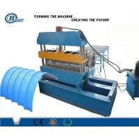 China Prepainted Steel & Aluminium Metal Roofing Roll Forming Machine Thickness 0.4-0.7mm wholesale