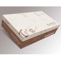 China 12 * 8 * 7 Inch Luxury Paper Board High Heel Shoes Box, Cardboard Shoe Boxes wholesale