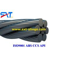 China galvanized steel wire rope slings with multi layers 6*41WS+IWR wholesale