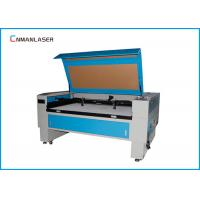 China 1300*900mm Blue And White Autofocus 100w Tube CO2 Laser Cutting Machine For Advertise wholesale
