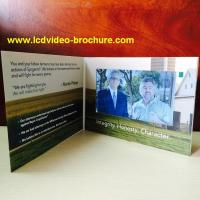 China 7 Inch Video Playing Advertising Business Brochure / Digital Video Brochure wholesale