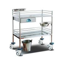 China Surgical Instrument Hospital Patient Trolley , Stainless Steel Medical Equipment Trolley wholesale