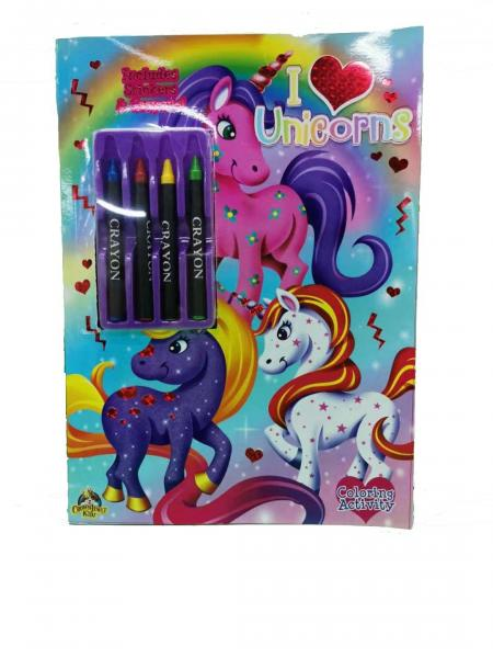Quality Activity Book Children Drawing Colouring Books Printing With Crayon For Children for sale