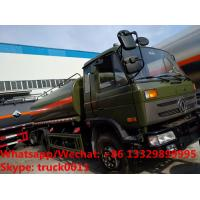 China Factory sale best price CLW brand 4*2 LHD diesel stainless steel 11,000Liters oil tank delivery truck,  fuel tank truck wholesale