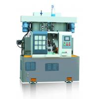 China Rotary Indexed Table Lathe Turning Machine , Drilling Tapping Machine Vertical Two Spindle wholesale