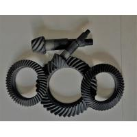 China Right Hand Steel Spiral Bevel Gear For Gearbox Anti - Oil Blacking Surface Treatment wholesale