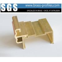 China Brass Window Extrusion Profiles and Copper Profiled Materials wholesale