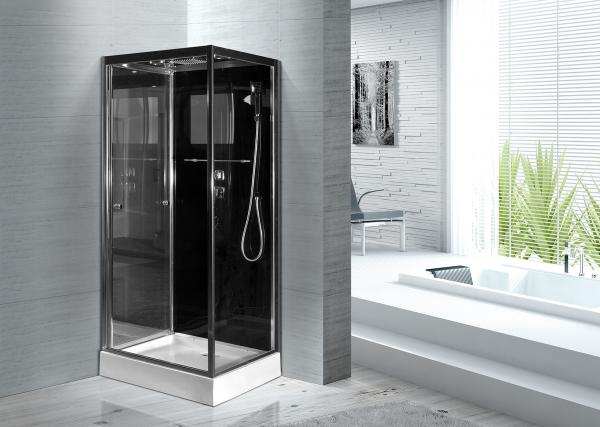 Quality Convenient Comfort Bathroom Shower Glass Enclosure Kits , Glass Shower Units for sale