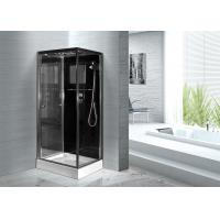 China Convenient Comfort Bathroom Shower Glass Enclosure Kits , Glass Shower Units wholesale