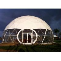 China 15m Diameter Outdoor Winter Party Tent , Hard Igloo Geodesic Dome Camping Tent wholesale