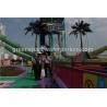 China Corrediça de água espiral gigante/corrediça água da fibra de vidro para o parque exterior da água wholesale