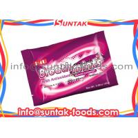 China Antioxidants Functional Candy For Healthy , Natural Breath Mints Paper Box wholesale