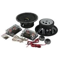 China 20KHZ Component Car Speaker, 4 Ohm , 75W Two Way Car Speaker Woofer wholesale